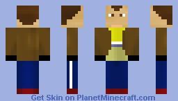 Niko Bellic Minecraft Skin