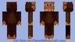 Bigfoot Minecraft Skin
