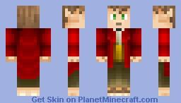 Young Bilbo Baggins Minecraft Skin