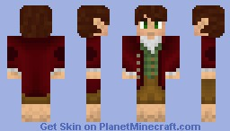 Bilbo Baggins: The Hobbit Minecraft Skin