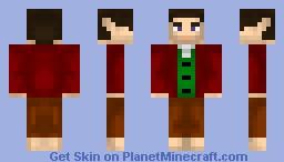 The Hobbit: Bilbo Baggins(young) Minecraft