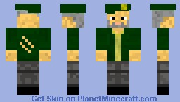 [SKIN] Bill from L4D Minecraft Skin