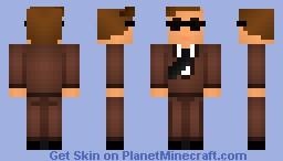 Billy Ray Sanguine(William Raymond Sanguine) Minecraft Skin