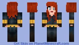 The Black Widow (rebuilt!) Minecraft Skin