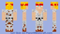 Black Belt Karate Free Runner Minecraft Skin