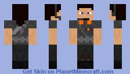 Black Haired Admin Police Femle Minecraft Skin
