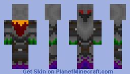 Black Knight (All Aspects) Minecraft Skin