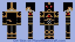 Black Legionaire Minecraft Skin