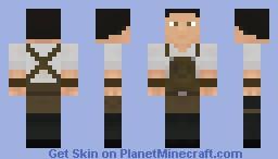 Medieval BlackSmith Male Minecraft Skin