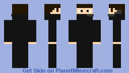 Black Suit Thief Minecraft Skin