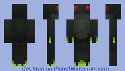 Black Toad Minecraft Skin