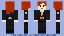 Natasha Romanoff/Black Widow - The Avengers Minecraft Skin