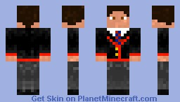 Glee - Warbler white Minecraft Skin