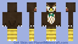 Blathers - Animal Crossing Minecraft