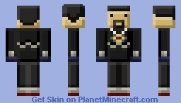 Blocky AntVenom (Famously Blockified Series) Minecraft Skin
