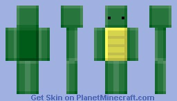 Blocky Turtle Minecraft