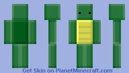 Blocky Turtle Minecraft Skin