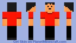 Blocky Guy Minecraft Skin