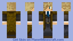 Blond Dude With A suit Minecraft Skin