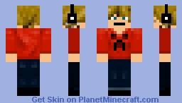 Blonde hair, blue eyes Minecraft Skin