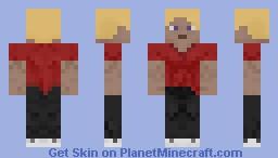 Blonde Hair Guy Minecraft Skin