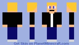 Blonde Headed Kid Minecraft Skin