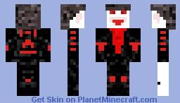 The bloodthirsty Minecraft Skin