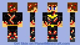 Bloody Batman- without cowl Minecraft Skin