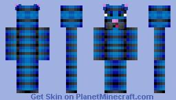 The Blue Cat Minecraft Skin