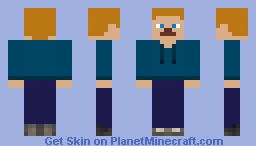 HaydenHill555's Blue Jacket Minecraft