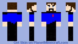 BlueXephos Minecraft Skin