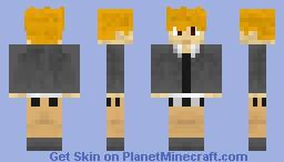 Pokemon - Blue Minecraft Skin