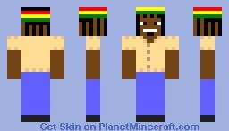 Bob Marley Minecraft Skin