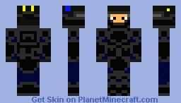EOD - Bomb Squad (with Helmet) Minecraft Skin