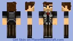 Booker Dewitt Minecraft