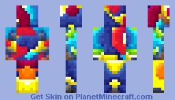 Craftedmovie BouledeNeige shaded! Minecraft Skin