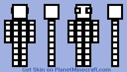 Box guy Minecraft Skin