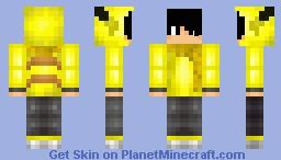 Pikachu boy Minecraft Skin