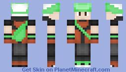 Brendan (Remake) Minecraft Skin