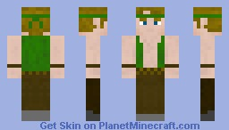 Take Back The Night Main Character Minecraft Skin