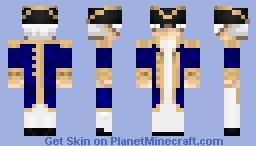 British Commodore Minecraft Skin