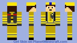 British Fire Fighter (OLD) Minecraft Skin