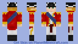 British Officer Minecraft Skin
