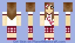 Pretty in Pink Minecraft Skin
