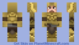 Elven Armor(Skyrim)(Great in preivew,3D parts) Minecraft Skin