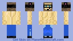 Buff Crasherz Minecraft Skin