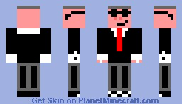 Pig with shades Minecraft Skin