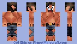 Me Geting Burnt In Lava Minecraft Skin