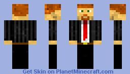 Business Dude V2.0 Minecraft Skin