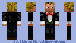 Butler Minecraft Skin
